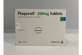PLAQUENIL (HYDROXYCHLOROQUINE SULPHATE) 200MG x 15 TABS STRIP