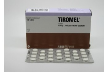 UK - CYTOMEL - T3 (25MCG / 100 TABS) - TIROMEL